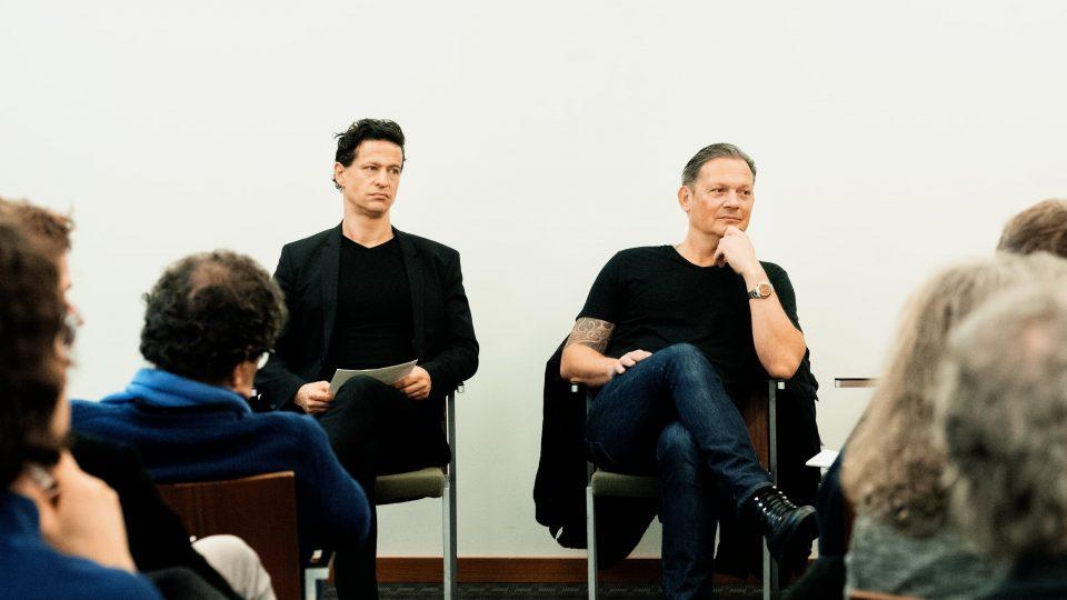 Karim Sebastian Elias, Martin Todsharow / © Florian Liedel · Deutsche Filmakademie