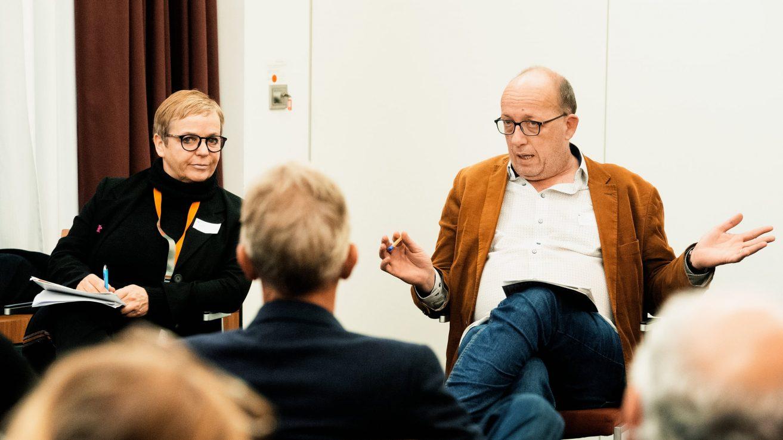 Annekatrin Hendel, Arne Birkenstock / © Florian Liedel · Deutsche Filmakademie