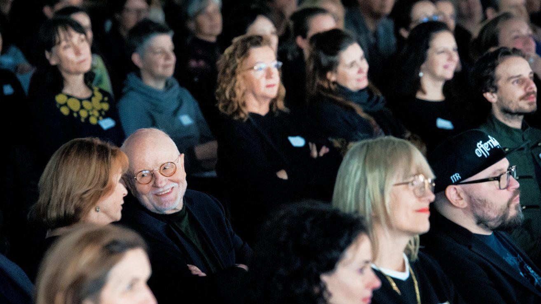 Senta Berger und Günter Rohrbach / © Florian Liedel · Deutsche Filmakademie