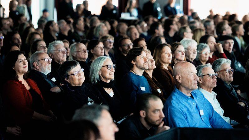Bei der Mitgliederversammlung · © Florian Liedel / Deutsche Filmakademie