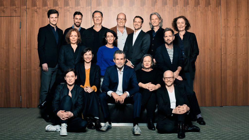 Der Vorstand 2019 / © Florian Liedel · Deutsche Filmakademie