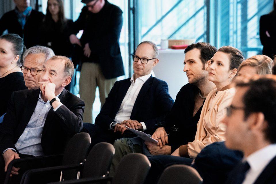 Die zwei künstlerischen Leiter, Florian Cossen und Elena von Saucken