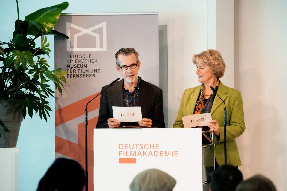 Präsident der Deutschen Filmakademie Ulrich Matthes und Staatsministerin Monika Grütters