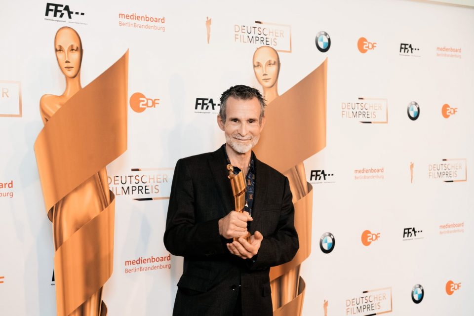 Der Präsident der Deutschen Filmakademie Ulrich Matthes