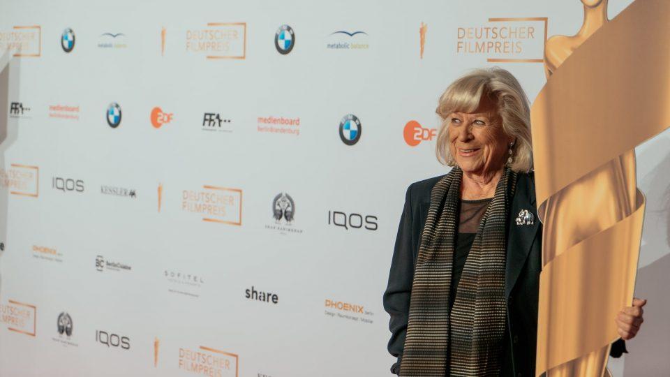 Margarethe von Trotta, Ehrenpreisträgerin 2019 · © Mattia Tezzele / Deutsche Filmakademie e.V.