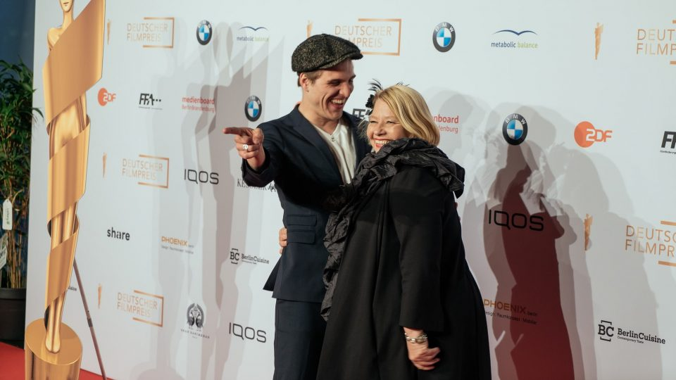 Jonas Dassler und Margarethe Tiesel · © Mattia Tezzele / Deutsche Filmakademie e.V.