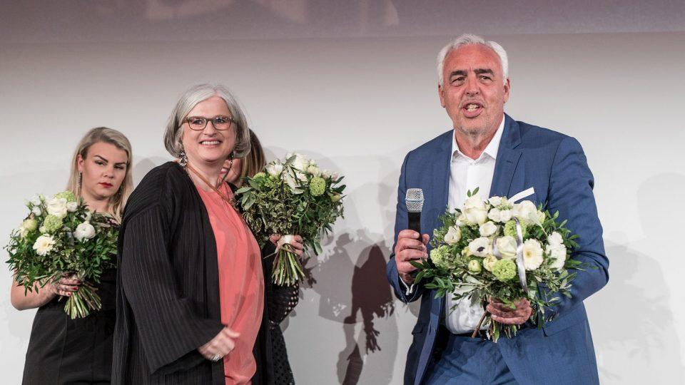 Claudia Loewe und Hans-Reiner Schröder · © Mattia Tezzele / Deutsche Filmakademie e.V.