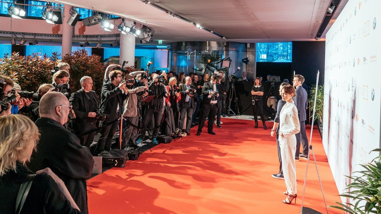 Auf dem roten Teppich · © Mattia Tezzele / Deutsche Filmakademie e.V.