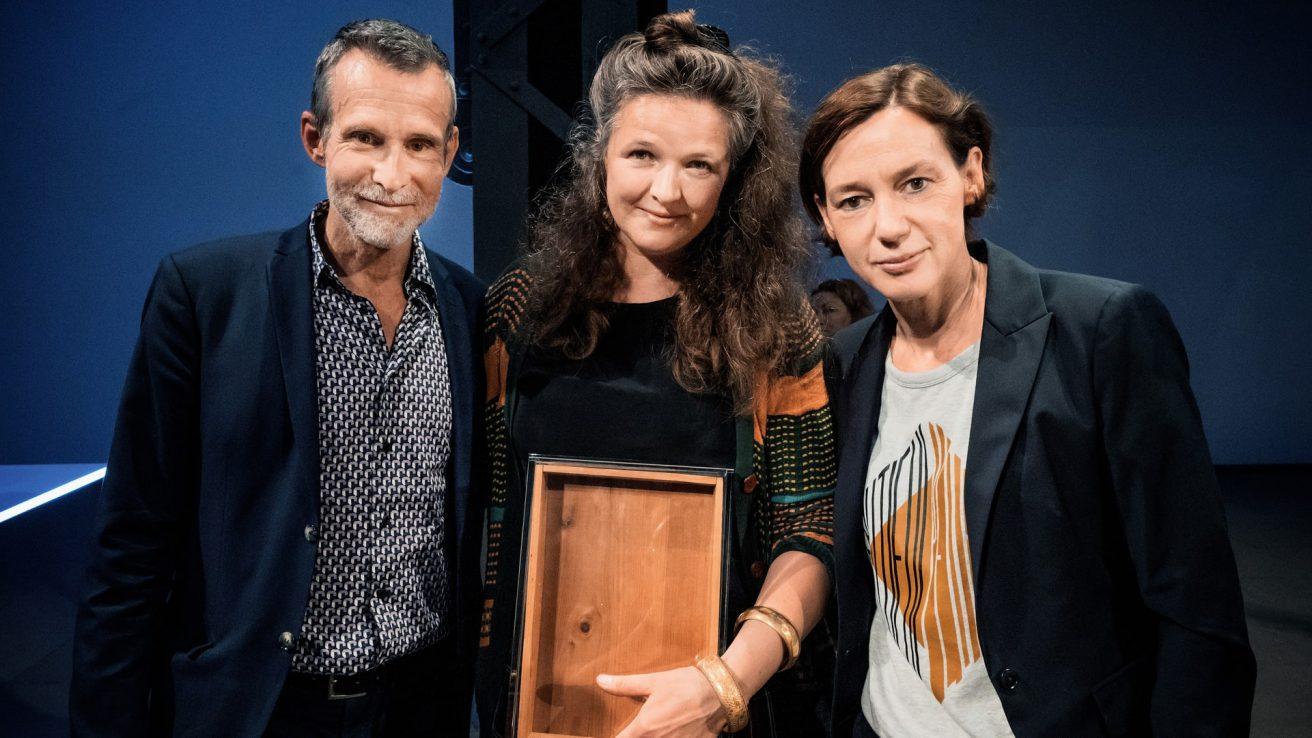 Ulrich Matthes, Lucia Margarita Bauer, Anne Leppin · © Florian Liedel · Deutsche Filmakademie