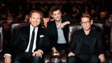 Daniel Hope, Benjamin Herrmann, Claudius Seidl · © Florian Liedel / Deutsche Filmakademie