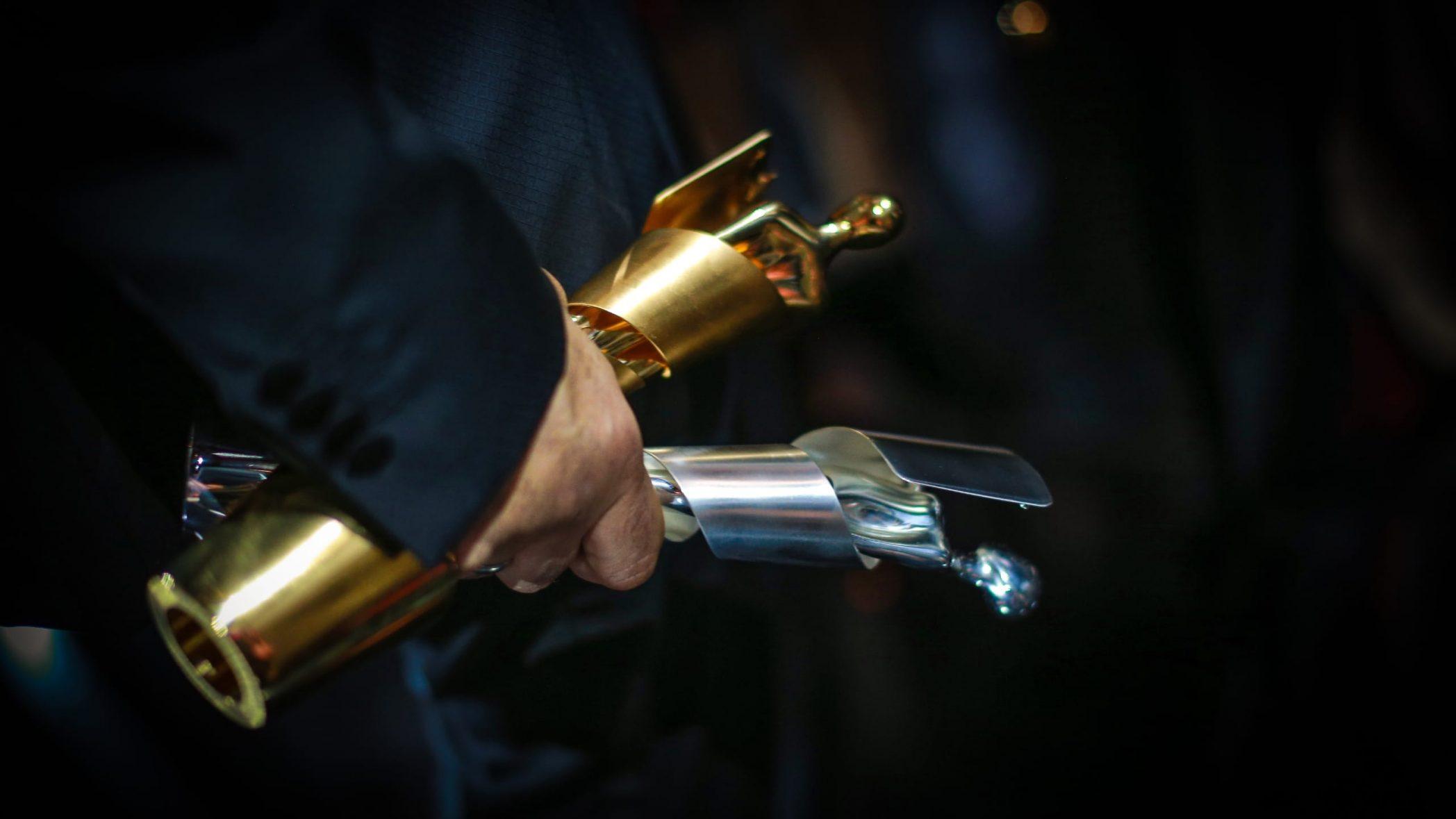 Deutscher Filmpreis / Lolas im Hand